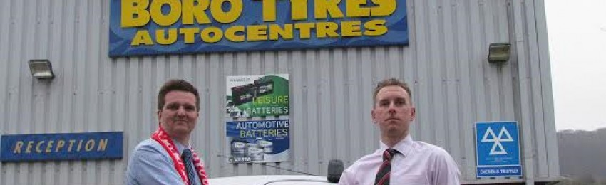 Boro Tyres to sponsor Scarborough AFC