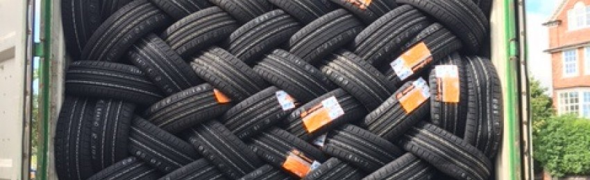 lots of tyres in stock