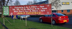 A Car Calamity Over Christmas? Don't Worry - We'll Be Open!